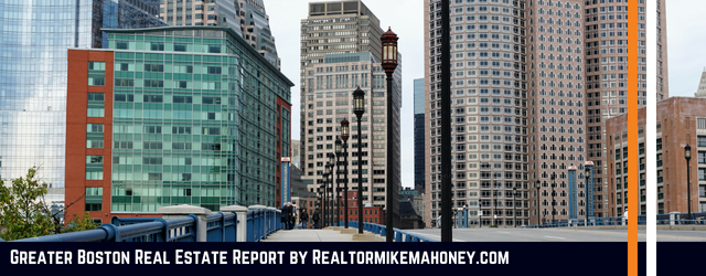 Greater Boston Real Estate Report by Realtor Michael Mahoney - click display images to see the full report